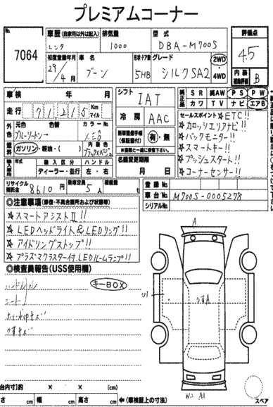 Daihatsu BOON 2017